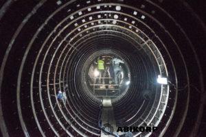 Wykonanie awaryjnej modernizacji kolektora Burakowskiego w technologii bezwykopowej