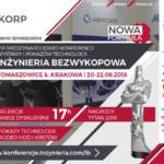 """Byliśmy srebrnym sponsorem Konferencji """"INŻYNIERIA Bezwykopowa"""" 2018"""